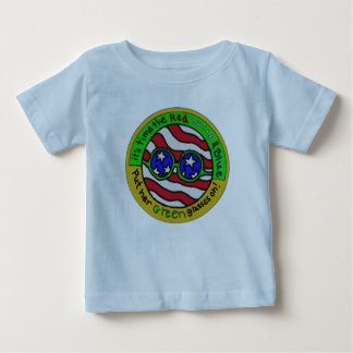 "Edart Design  "" Green America"" Baby T-Shirt"