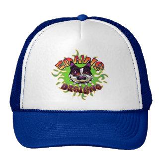 Edawg Designs Logo on Royal Blue Hat