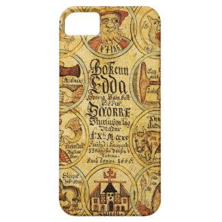 Edda Norse Mythology iPhone 5 Covers