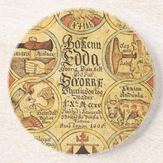 Edda Norse Mythology Drink Coaster