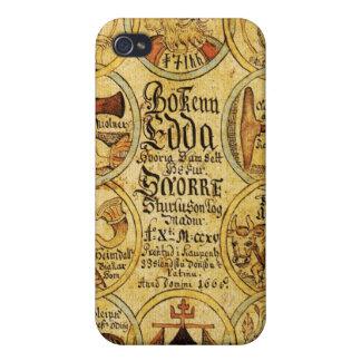 Edda Norse Mythology iPhone 4 Covers