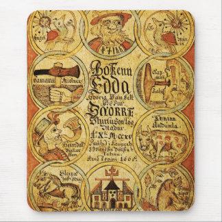 Edda Norse Mythology Mouse Pad
