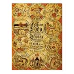 Edda Norse Mythology Postcard