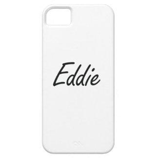 Eddie Artistic Name Design iPhone 5 Covers