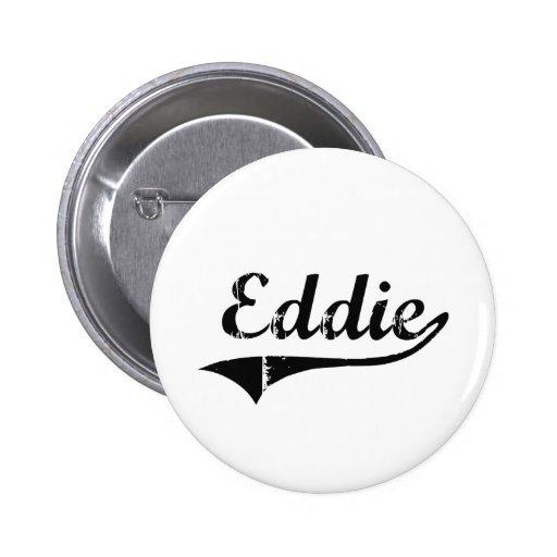 Eddie Classic Style Name Pins
