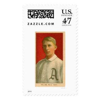 Eddie Collins Baseball 1909 Postage