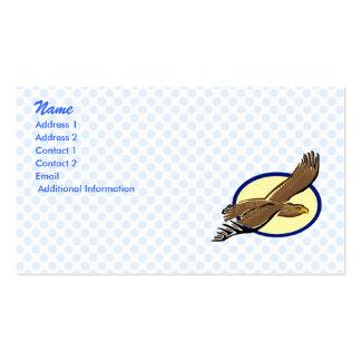 Eddie Eagle Business Card