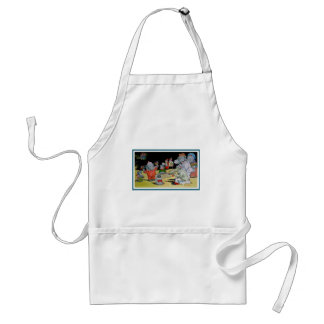 Eddie Elephant and Friends Adult Apron