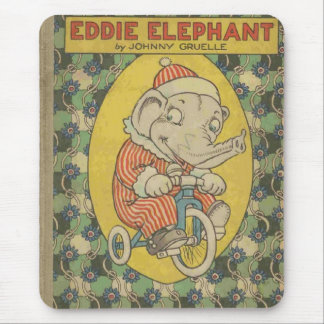 Eddie Elephant Book Cover Mouse Pad