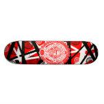 eddie inhalen custom skateboard