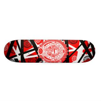 eddie inhalen skateboard deck