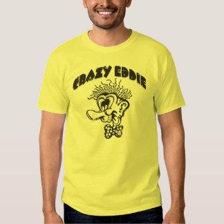 """Eddie loco """"cara loca"""" y tipo camiseta del playera"""