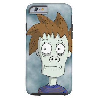 Eddie loco parece un zombi funda para iPhone 6 tough