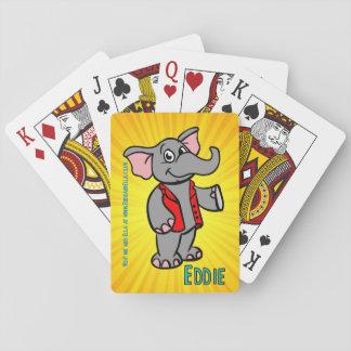Eddie los naipes del elefante