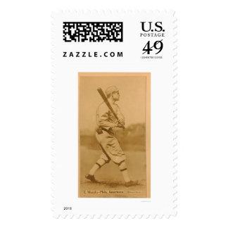 Eddie Murphy Athletics Baseball 1914 Stamps