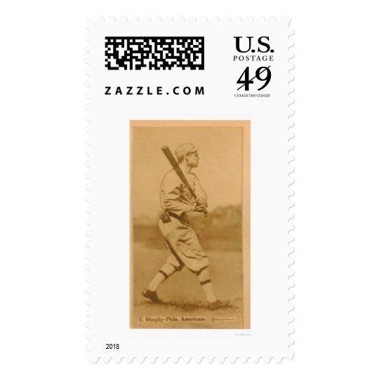 Eddie Murphy Athletics Baseball 1914 Postage