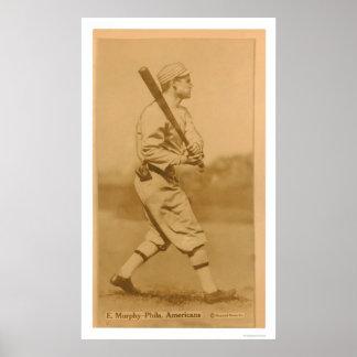 Eddie Murphy Athletics Baseball 1914 Poster