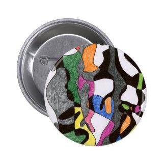 Eddie Price Anthropomorphic Pinback Button