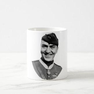 Eddie Rickenbacker and his M.O.H. Coffee Mug