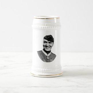 Eddie Rickenbacker and his M.O.H. Coffee Mugs