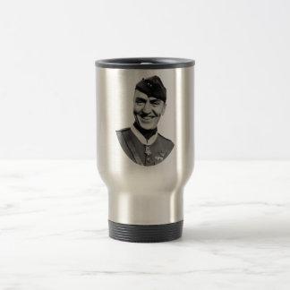 Eddie Rickenbacker and his M.O.H. Travel Mug