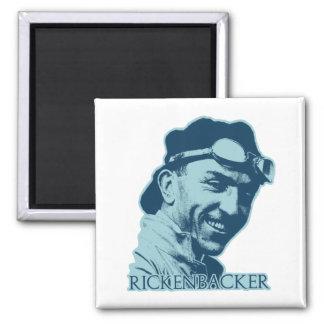 Eddie Rickenbacker - color Imán Cuadrado