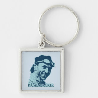 Eddie Rickenbacker - color Key Chains