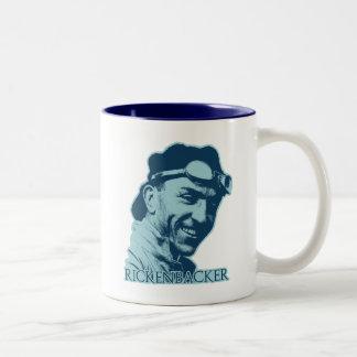 Eddie Rickenbacker - color Two-Tone Coffee Mug