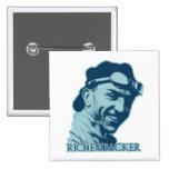 Eddie Rickenbacker - color Pin