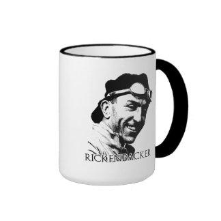 Eddie Rickenbacker Ringer Coffee Mug