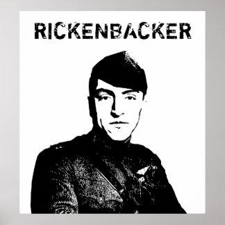 Eddie Rickenbacker Poster