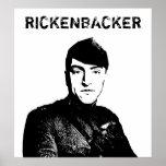 Eddie Rickenbacker Print