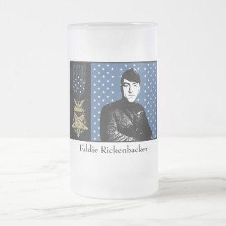 Eddie Rickenbacker y la medalla de honor Taza Cristal Mate
