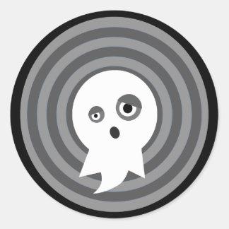 Eddie The Ghost Classic Round Sticker