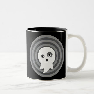 Eddie The Ghost Two-Tone Coffee Mug