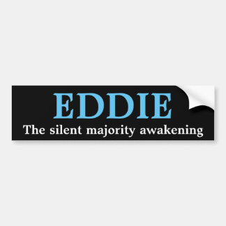 Eddie the new average Joe Bumper Sticker
