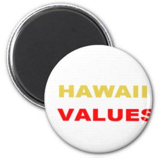 EDDIE US SENATOR 2012   HAWAII FAMILY VALUES 2 INCH ROUND MAGNET