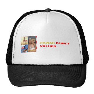 EDDIE US SENATOR 2012 | HAWAII FAMILY VALUES TRUCKER HAT