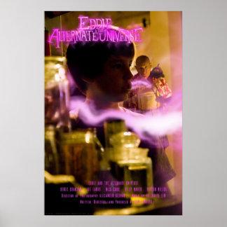 Eddie y el poster alterno del universo póster
