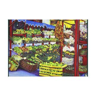 Eddie's Market Canvas Print