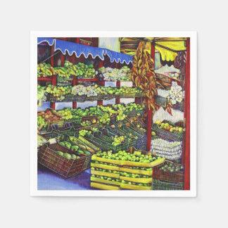 Eddie's Market, Hungary Paper Napkin