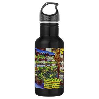 Eddie's Market, Hungary Stainless Steel Water Bottle