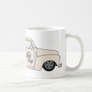 Eddies Speed Shop truck and bike Coffee Mug