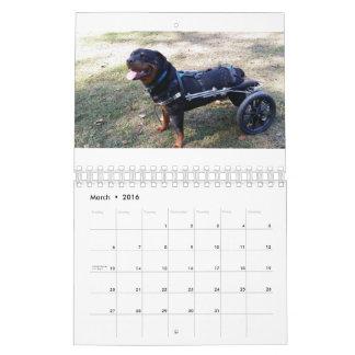 Eddie's Wheels 2016 Calendar