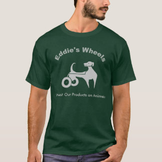 Eddie's Wheels Dark T-Shirt