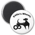 Eddie's Wheels Magnet