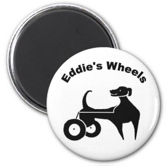 Eddie's Wheels Magnet