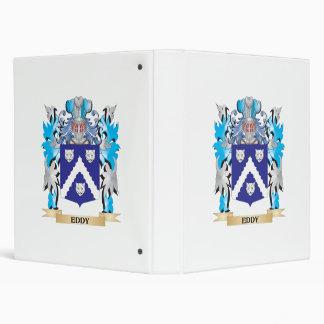 Eddy Coat of Arms - Family Crest Vinyl Binder