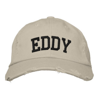 Eddy Embroidered Hat Embroidered Hat