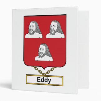 Eddy Family Crest 3 Ring Binders